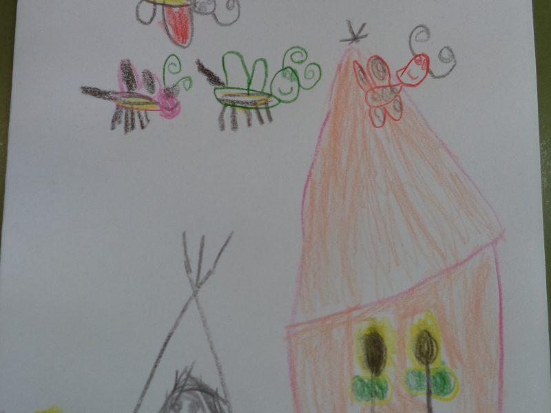 Schwedischer Kindergarten von Enfes Su